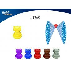 Teejet TTJ60. Подвійне розпилення