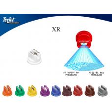 XR110**-VP Плоскоструйний, щілинний, полімер - VP. 110°