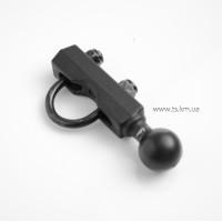 """Монтажний комплект 1"""" ball RAM-Mount, на трубу до 25мм"""